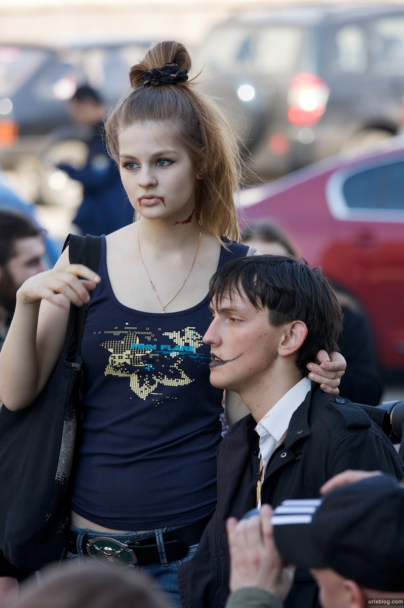2009 Зомби-моб 2 в память оКенни Москва