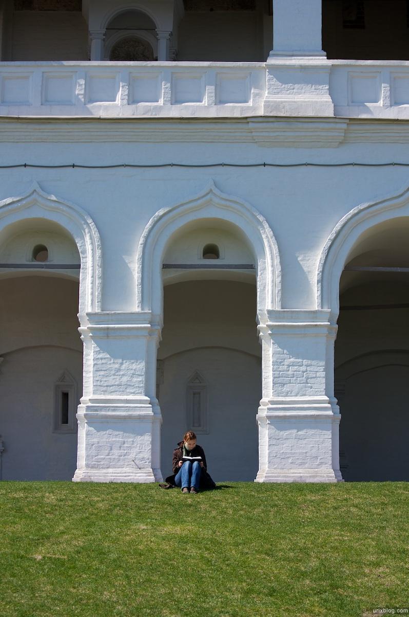 2009 Коломенское Москва парк природа деревья церковь