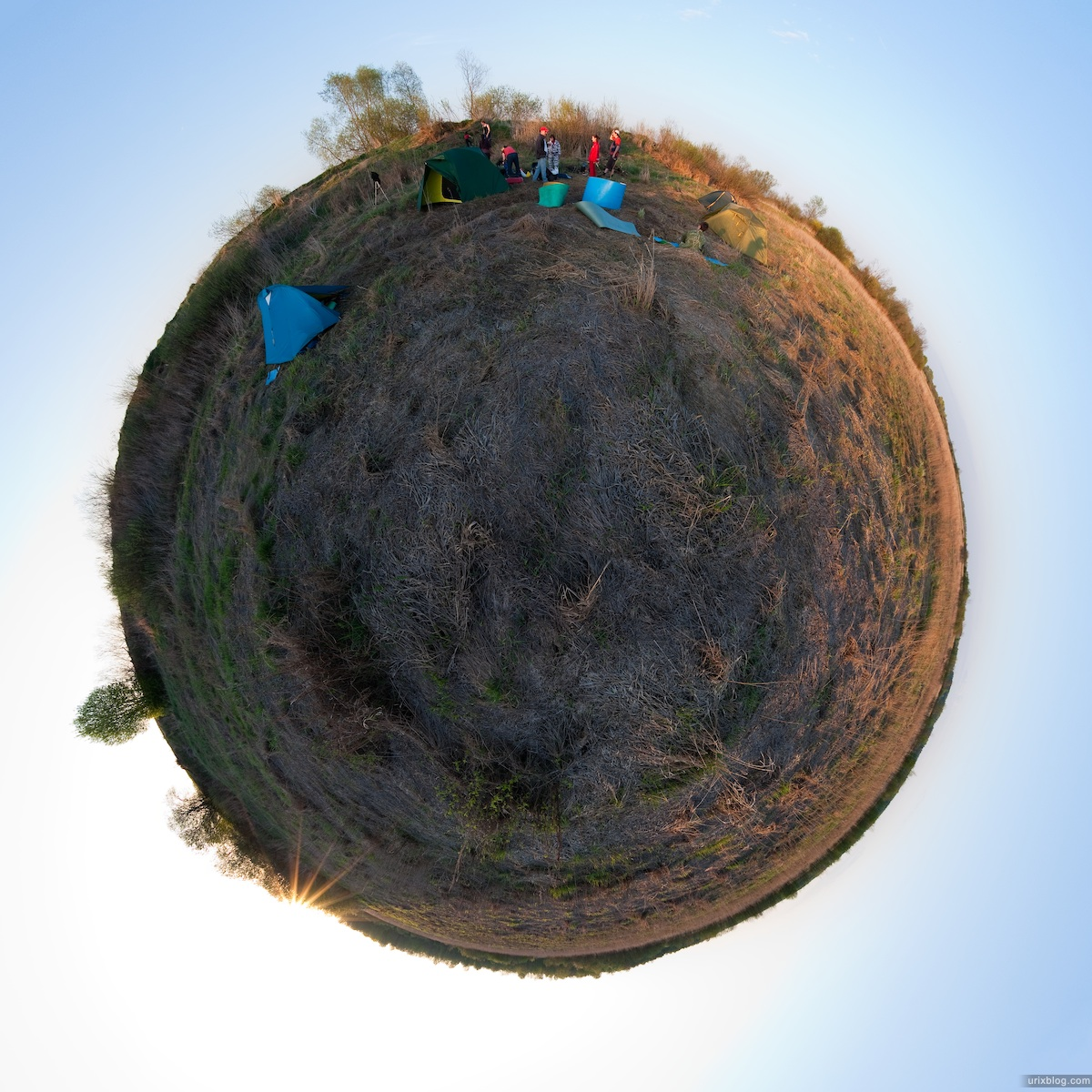 2009 река Дубна сплав Россия путешествие катамаран лодка маленькая планета панорама