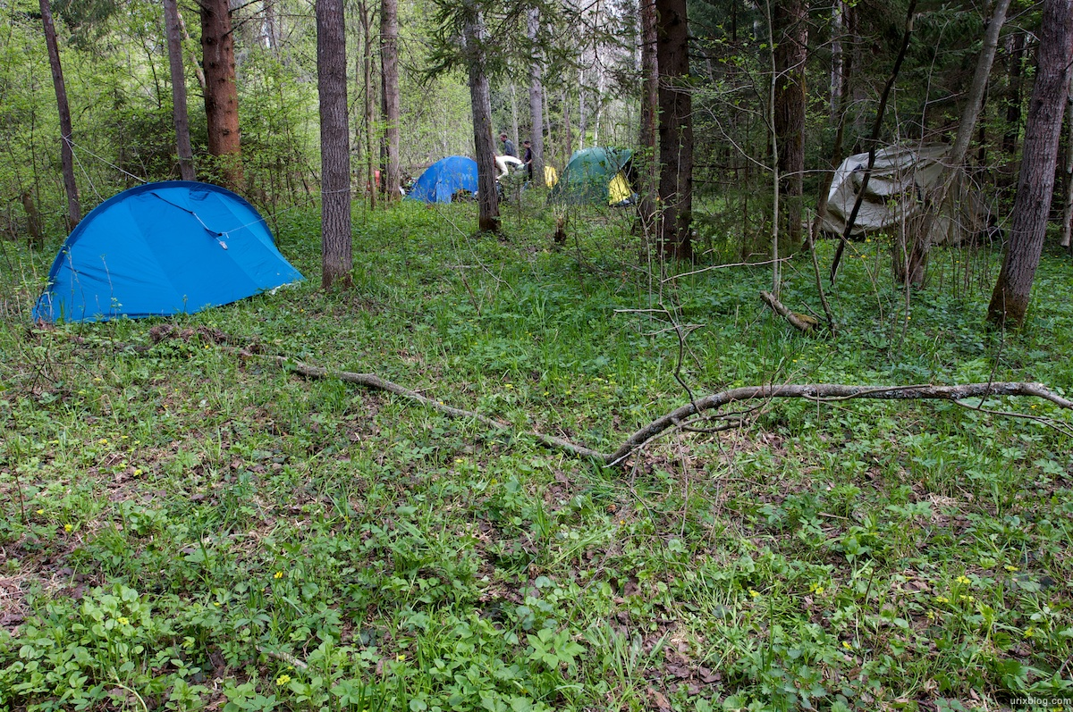 2009 река Дубна сплав Россия путешествие лес палатки