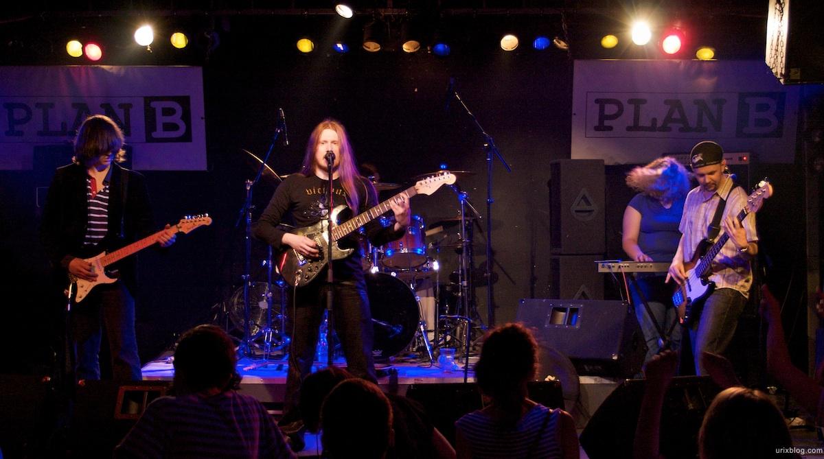 2009 Queen tribute Anchor Field Россия клуб Plan B, Москва концерт concert
