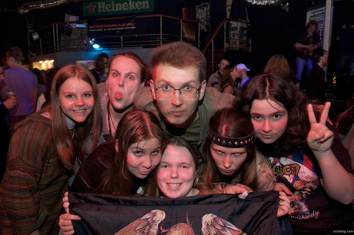 2009 Queen tribute The Bohemians Anchor Field Россия клуб Plan B, Москва зрители концерт concert