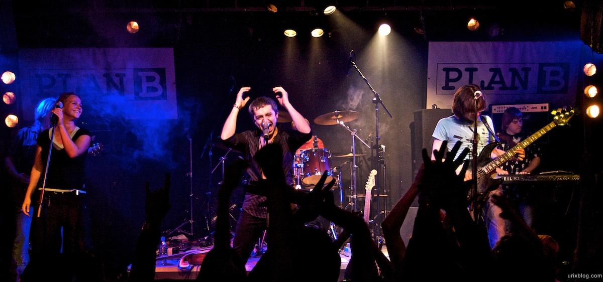 2009 Queen tribute The Bohemians Россия клуб Plan B, Москва концерт concert