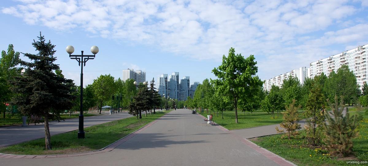 2009 Утро в Отрадном парк дома, Москва