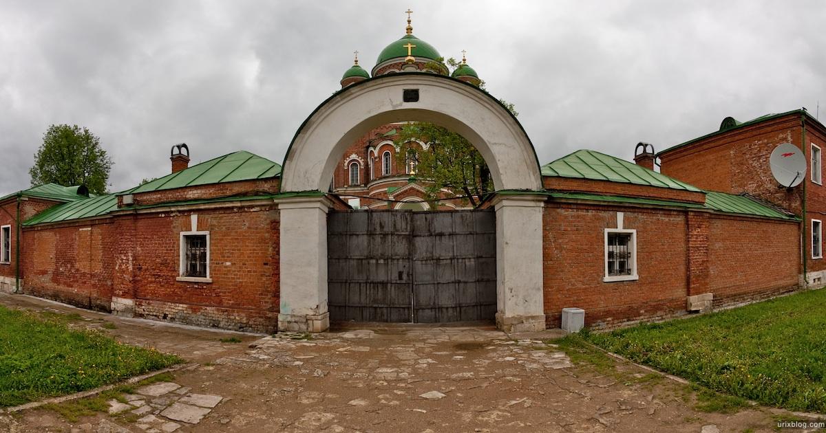 2009 Спасо-Бородинский монастырь, Бородинскоеполе Россия панорама фишай рыбий глаз fisheye