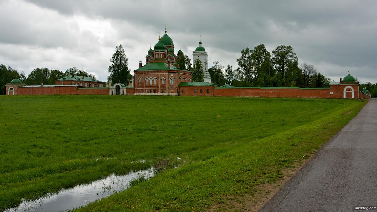 2009 Спасо-Бородинский монастырь, Бородинскоеполе Россия панорама