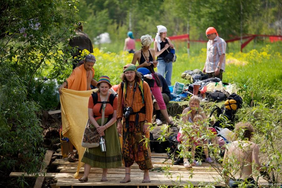 2009 Пустые Холмы люди хиппи лес поле природа лето