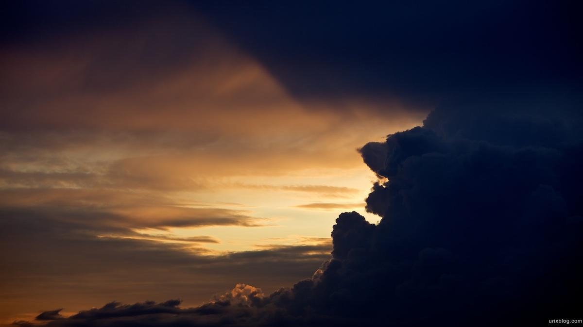 2009 Clouds тучи облака небо Москва