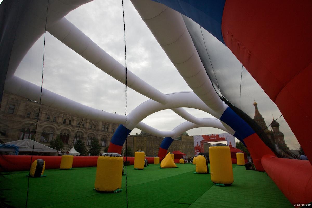 2009 Москва 5-й Военно-спортивный форум Красная площадь спорт