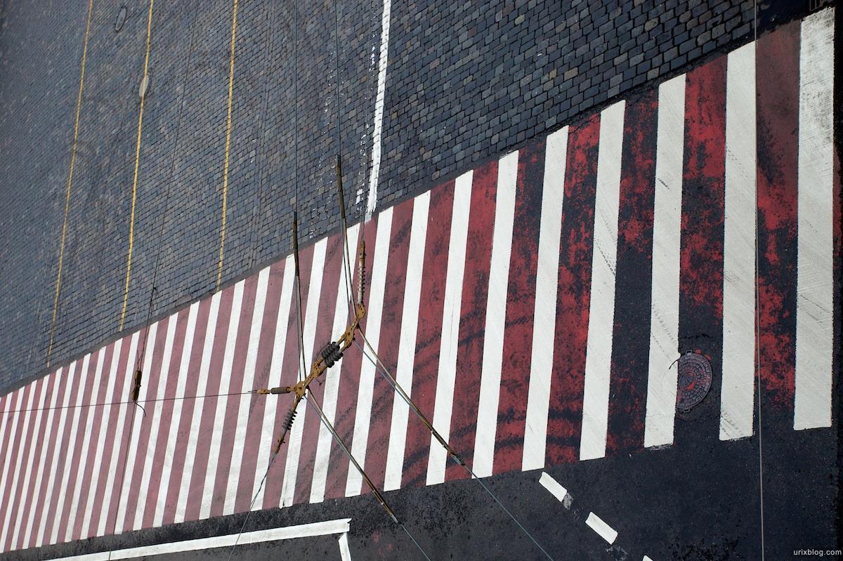 2009 Москва Красная площадь Васильевский спуск пешеходный переход