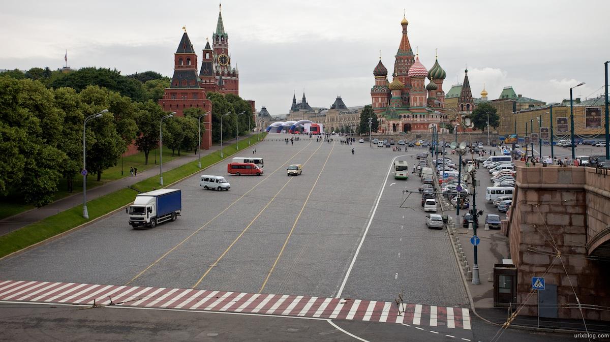 2009 Москва Васильевский спуск Красная площадь