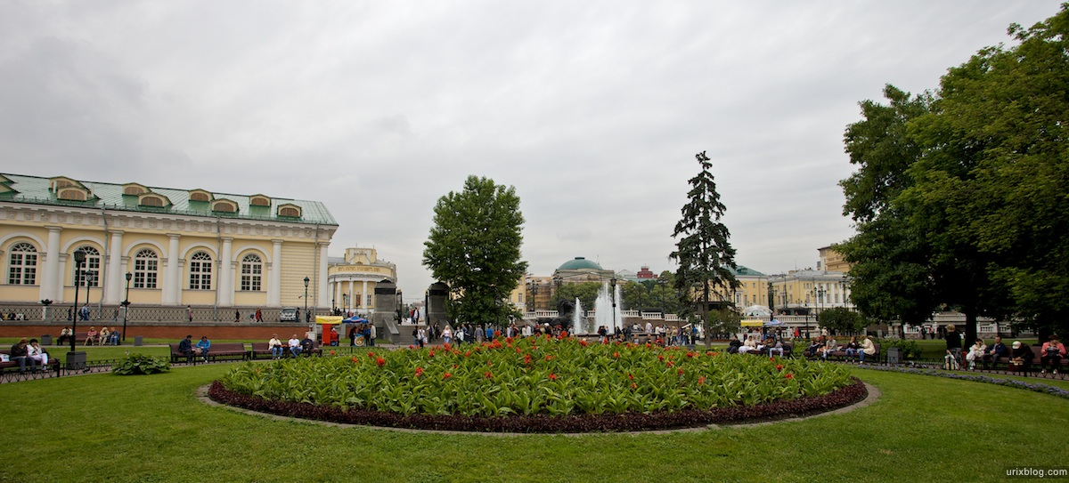 2009 Москва Александровский сад