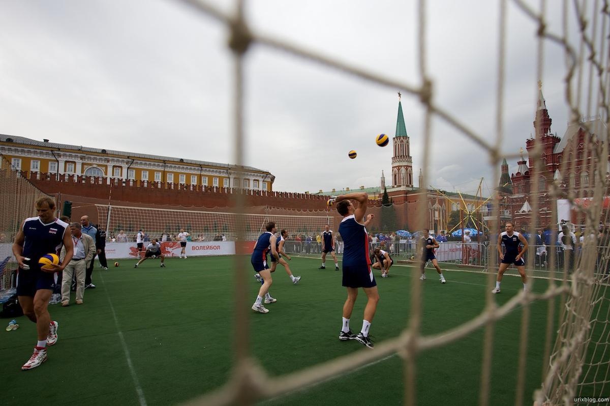 2009 Москва 5-й Военно-спортивный форум Красная площадь спорт футбол