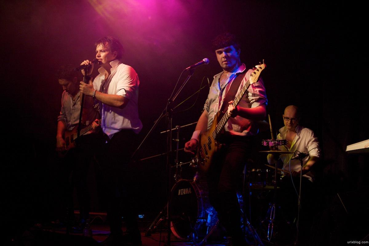 2009 Москва клуб музыка Группа Рецепт МеццоФорте