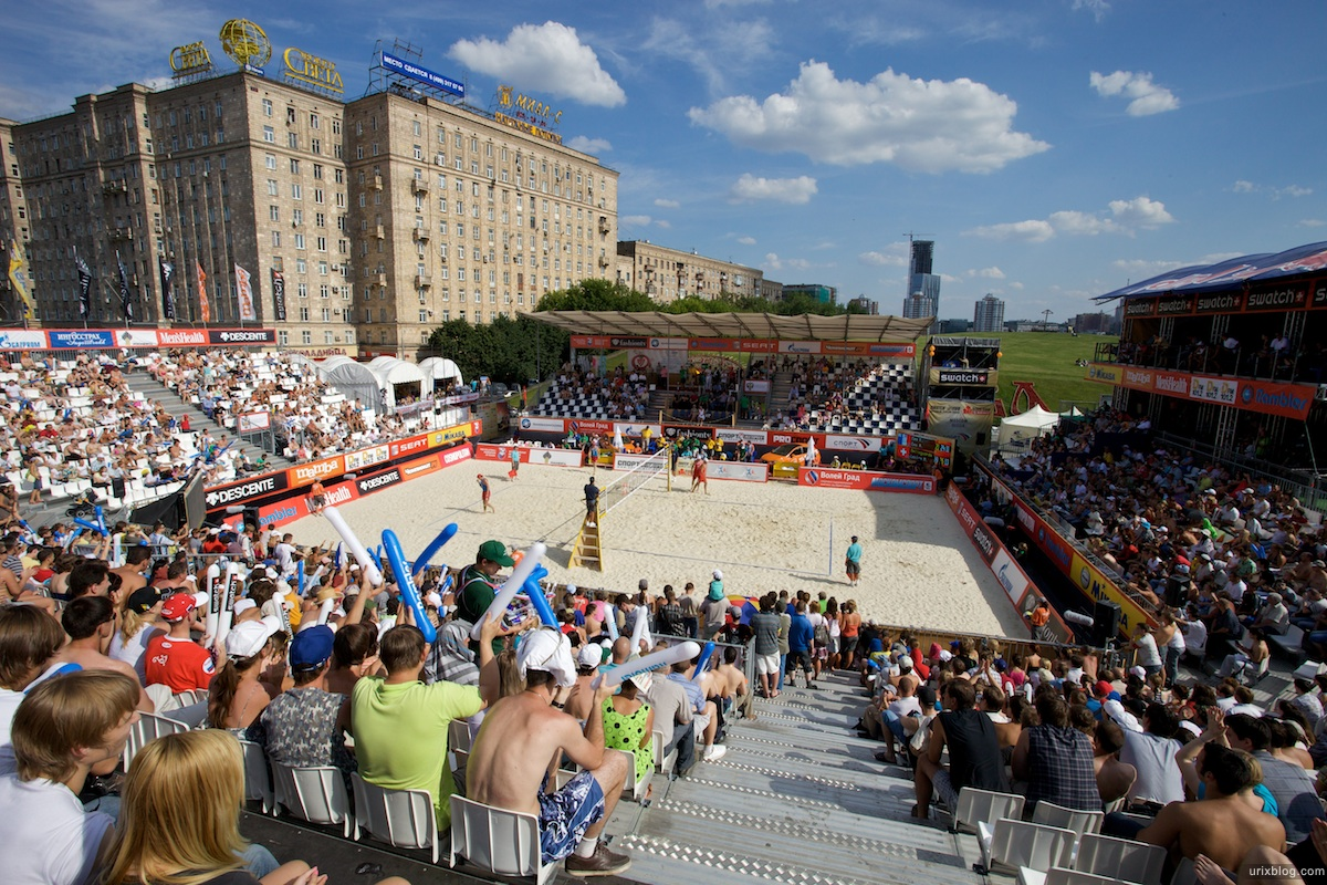 Пляжный Волейбол Парк Победы, Москва Grand Slam Moscow (Swatch FIVB World Tour 2009)