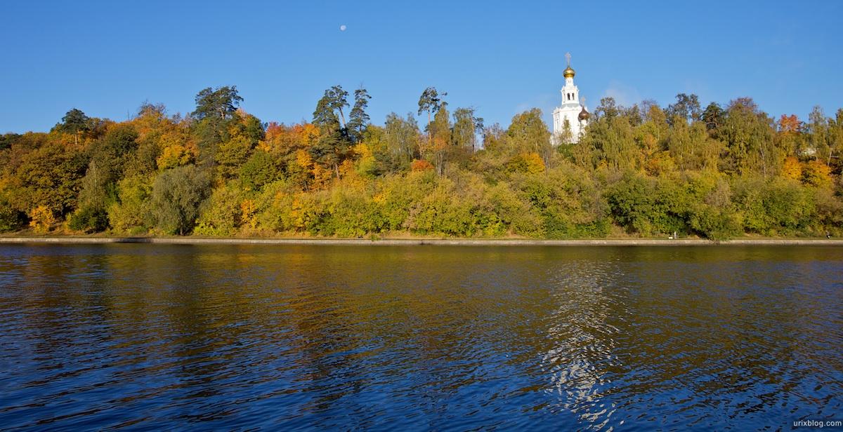 2009 Москва Серебряныйбор парк осень река