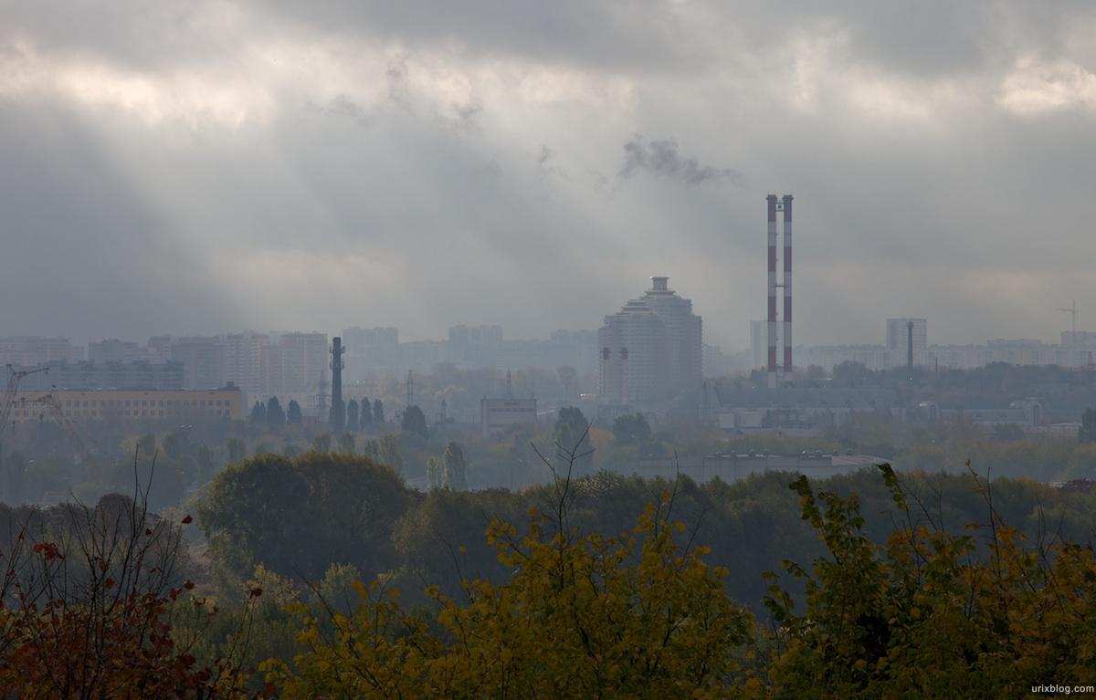2009 Москва Коломенское утро парк
