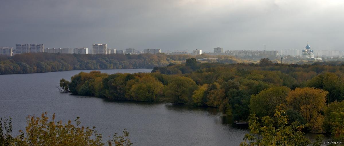 2009 Москва Коломенское утро парк река