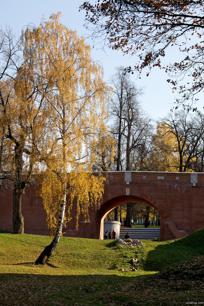 2009 Москва Царицыно парк берёзка мост осень