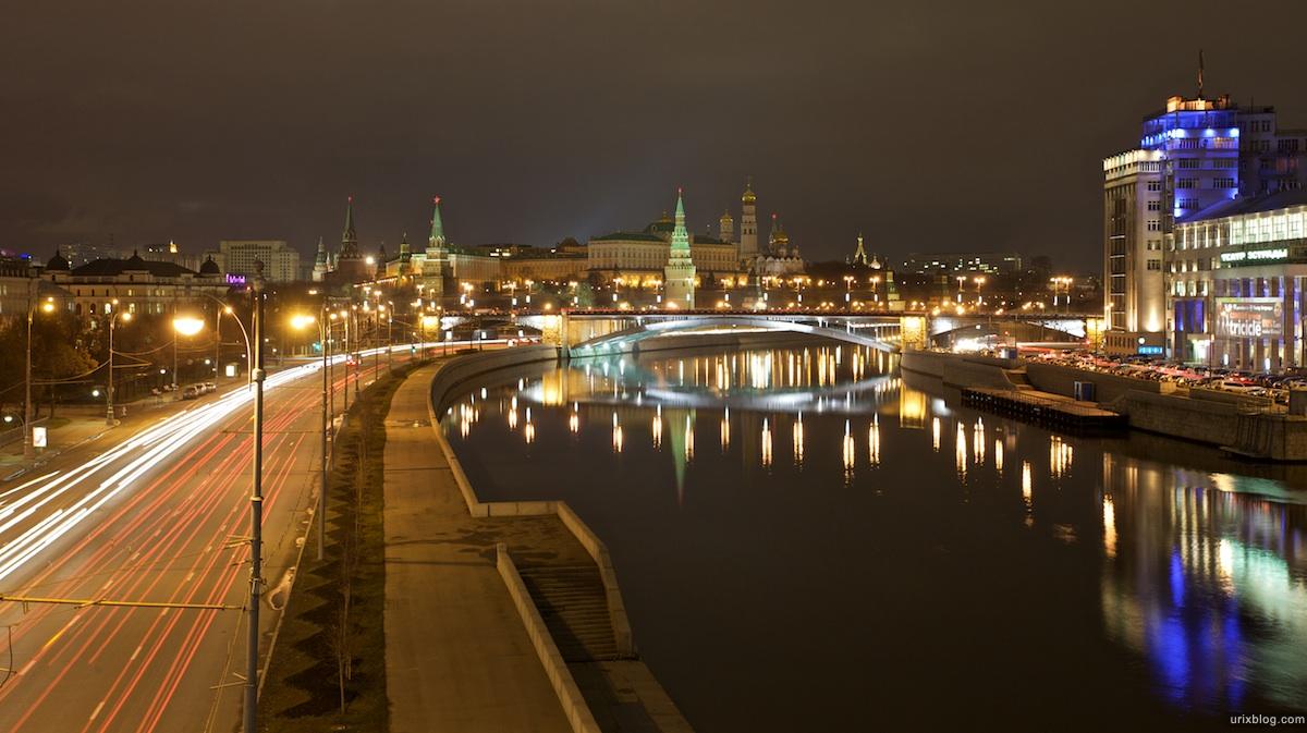 2009 Москва Moscow TheKremlin Кремль река, набережная