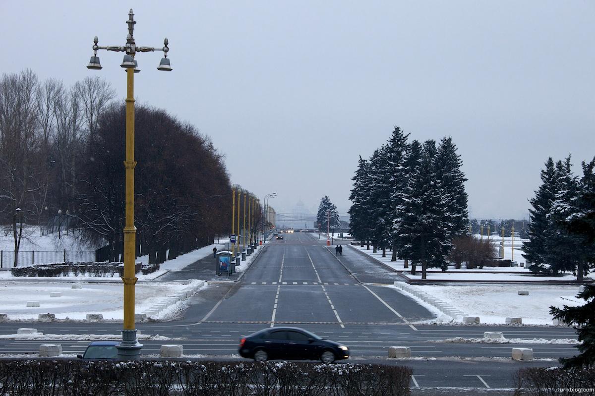 2009 МГУ Москва Moscow зима снег