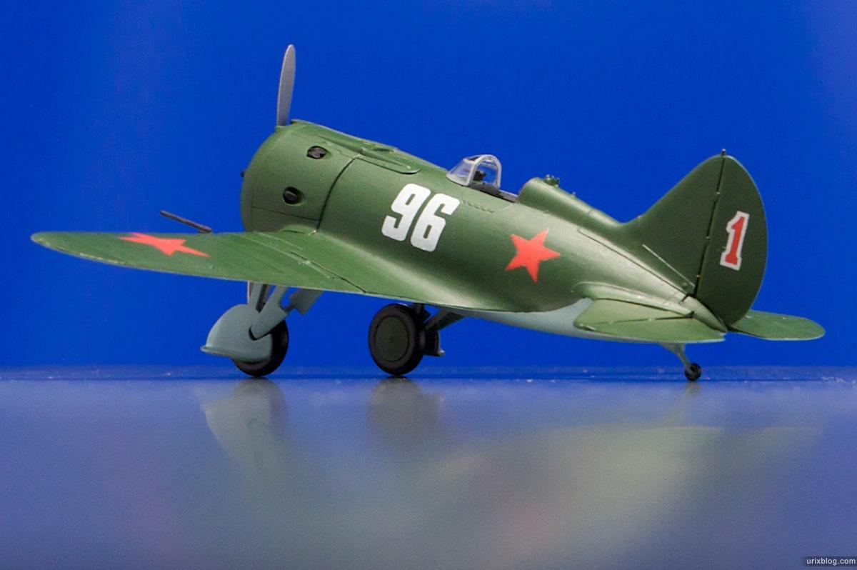 2009 Москва Moscow Поликарпов И-16 тип 28 Polikarpov I-16 type 28