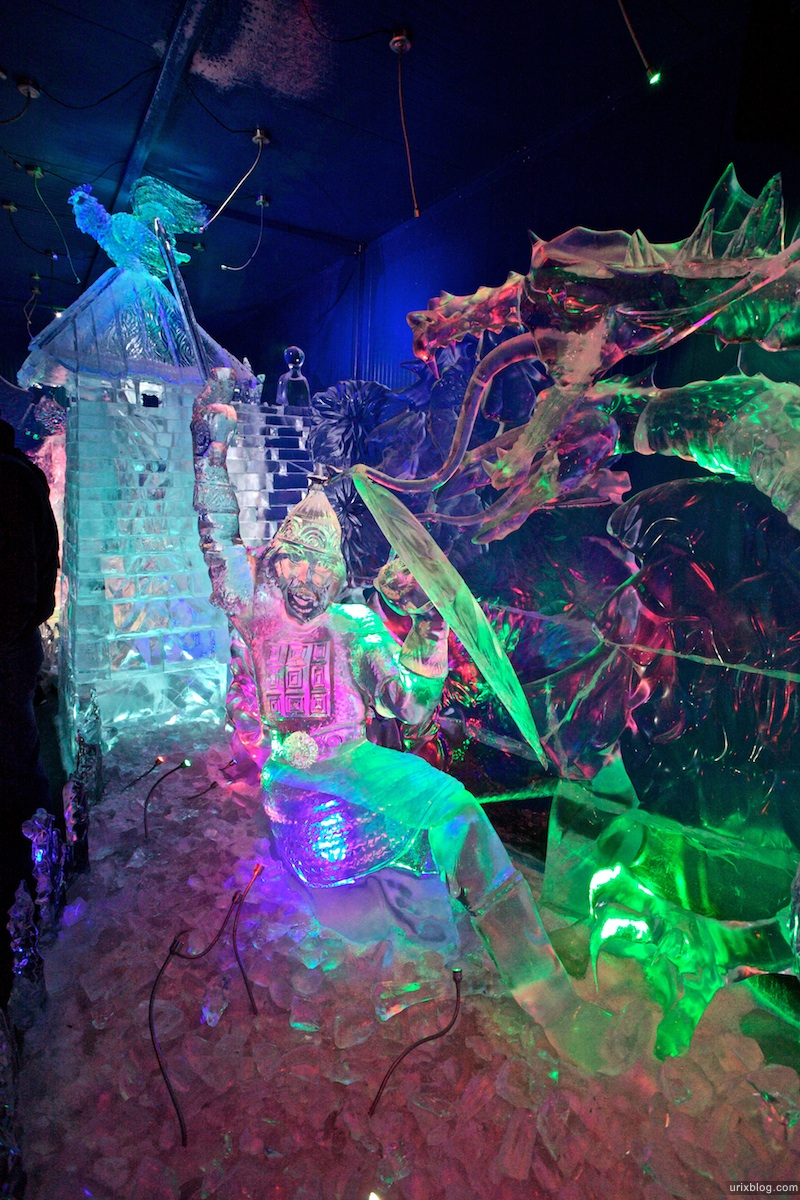 2010 Ледяные фигурки в парке КраснаяПресня Москва