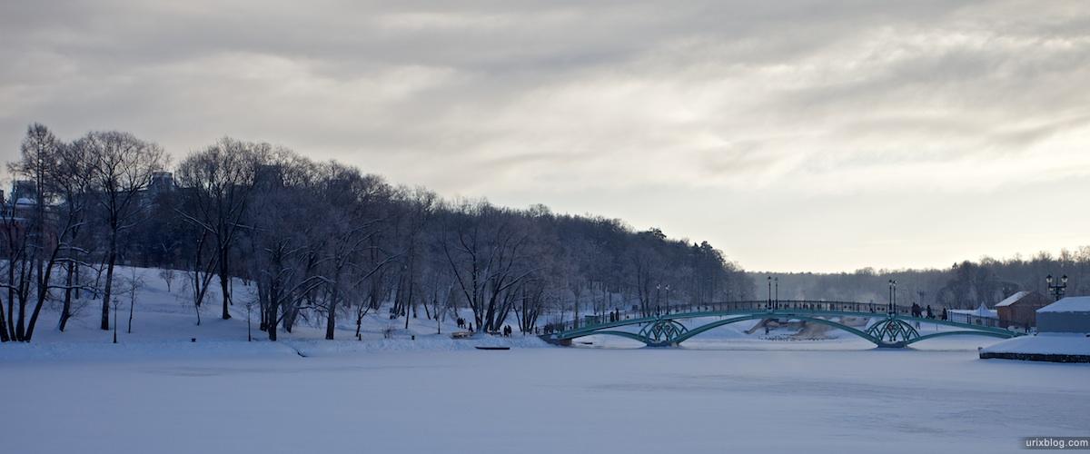 2010 парк Царицыно зима снег, Москва