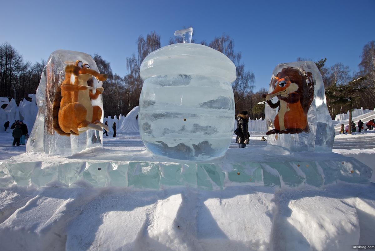 2010 Снежный городок в Сокольниках, Москва
