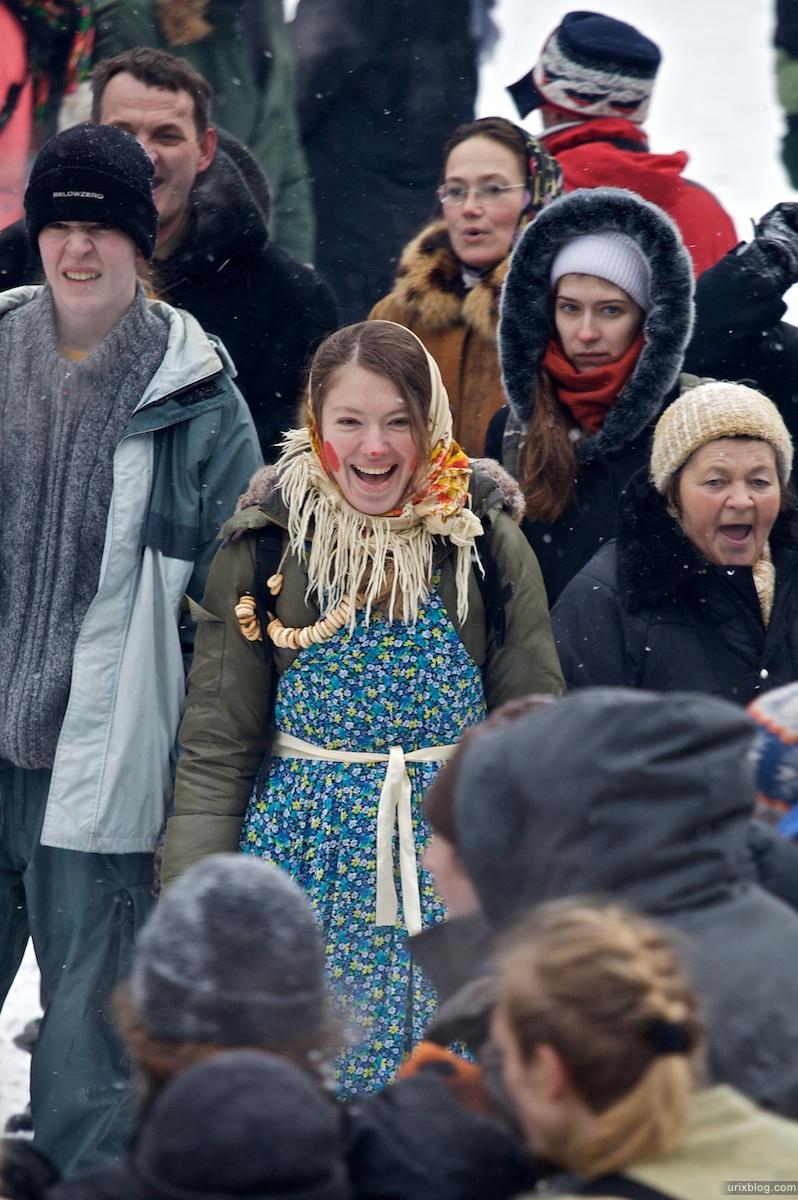 2010 Бакшевская Масляница Масленица лес