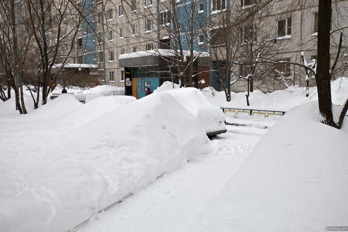2010 зима Москва Отрадное