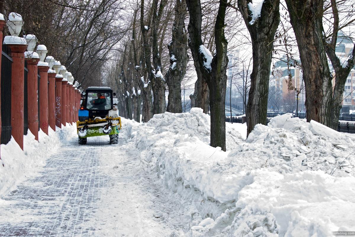 2010 зима Москва Электрозаводская