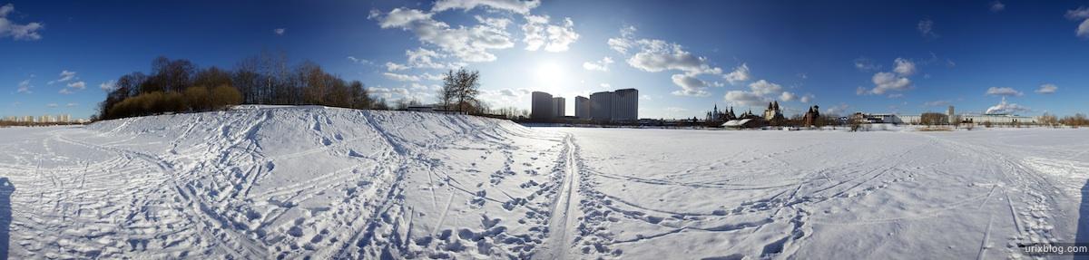 2010 панорама, panorama микрорайон ГородокБаумана Москва