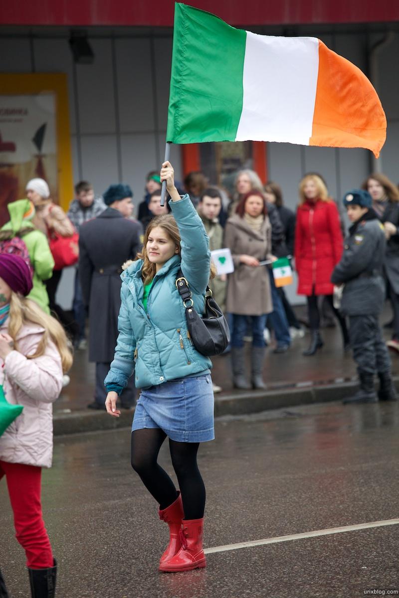 2010 St. Patrick's Day inMoscow, Москва День святого Патрика