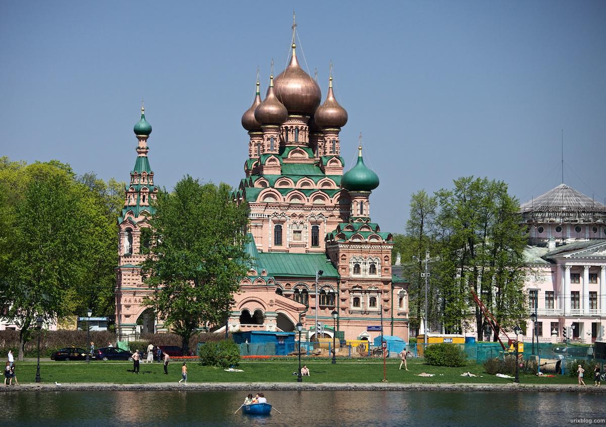 2010 Moscow near the Ostankino park, Москва около парка Останкино