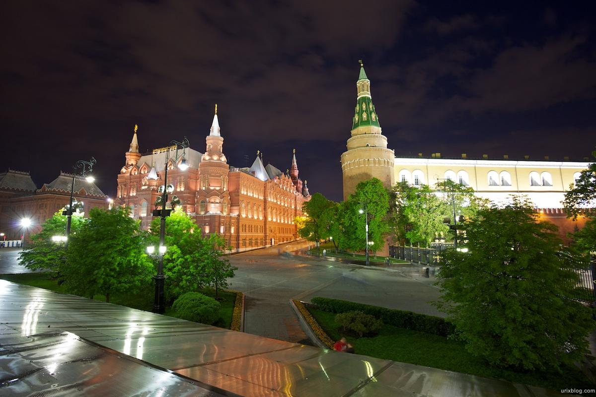2010 Москва Moscow Манежная площадь