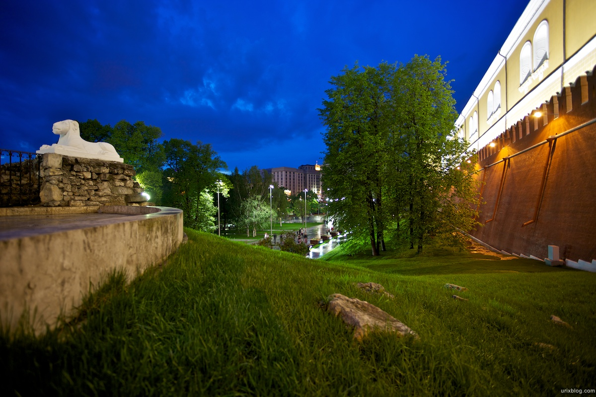 2010 Москва Moscow Александровский сад