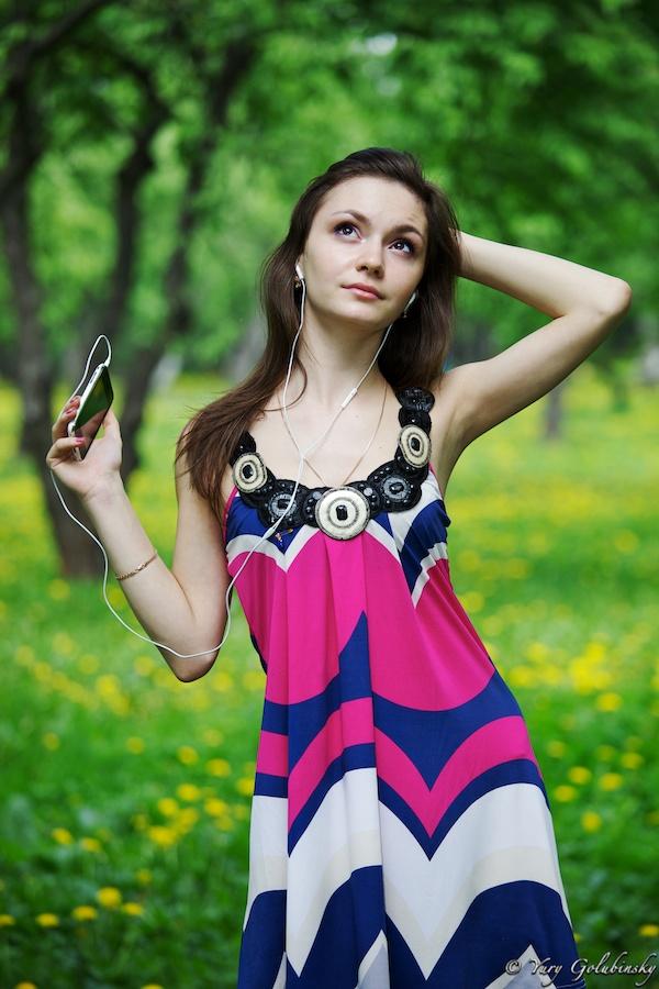 2010 Москва Moscow яблочная фотосессия с Кристиной в Коломенском girl девушка