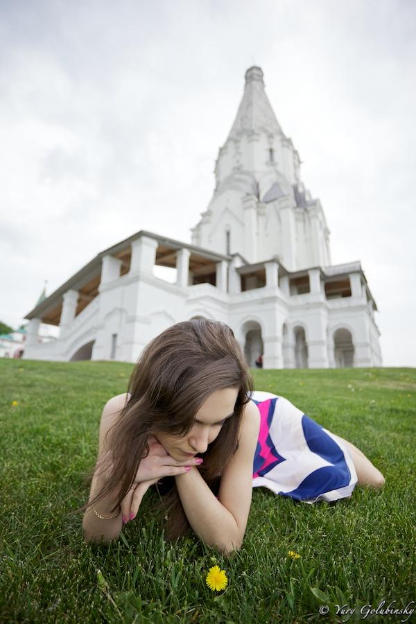 2010 Москва Коломенское парк девушка girl Moscow