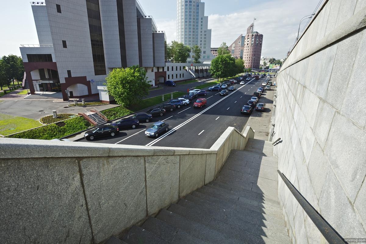2010 Москва Moscow Большой Краснохолмский мост