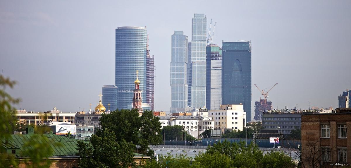 2010 Москва Moscow парк к востоку от станции Воробъёвы горы