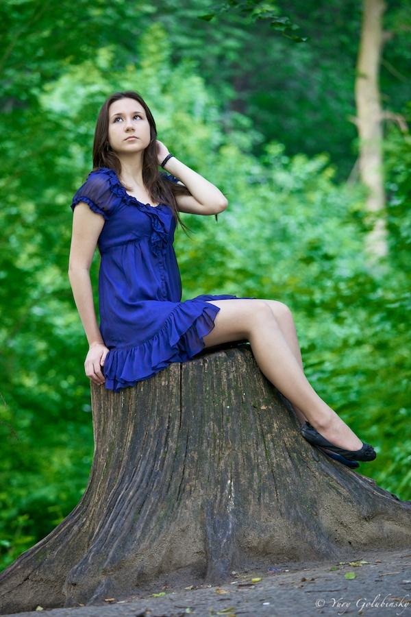 2010, Москва фотосессия Лилия Воробъёвы горы девушка