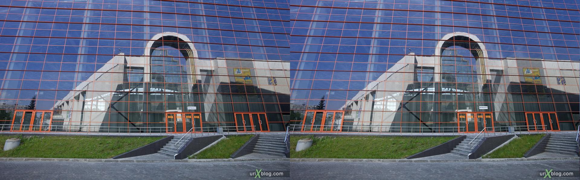 2010 3D, stereo, cross-eyed, стерео, стереопара ВВЦ, Москва ВДНХ Moscow, VVTs VDNKh