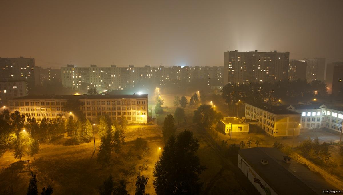 2010 Moscow Москва evening heat жара вечер пожары wildfire smog смог