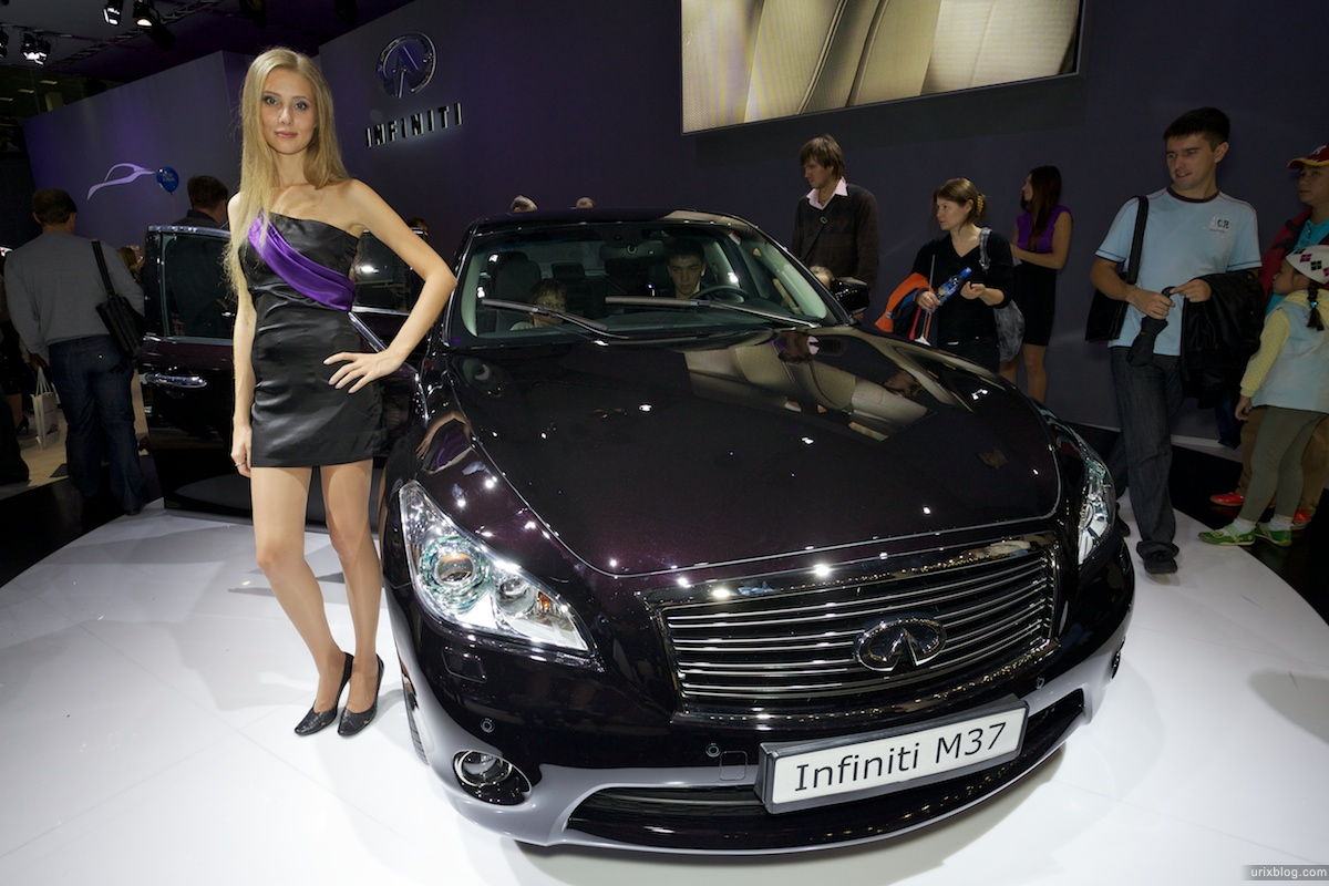 2010, cars, vehicles, Moscow International Automobile Salon, MIAS, MosIAS, Crocus Expo, girl, model