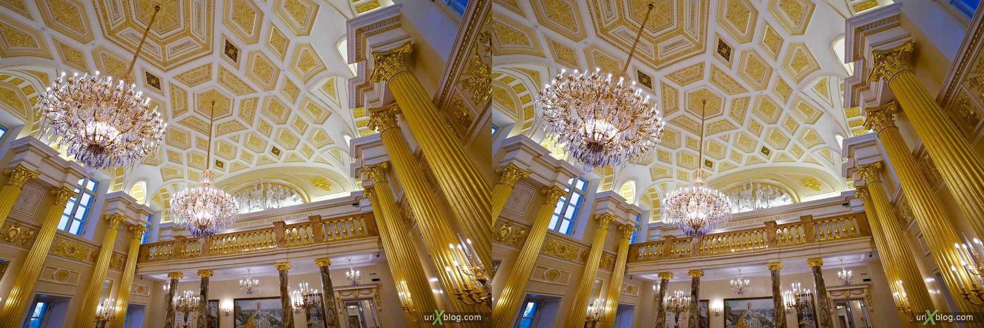 3D, stereo, cross-eyed, стерео, стереопара 2010 Царицыно Москва