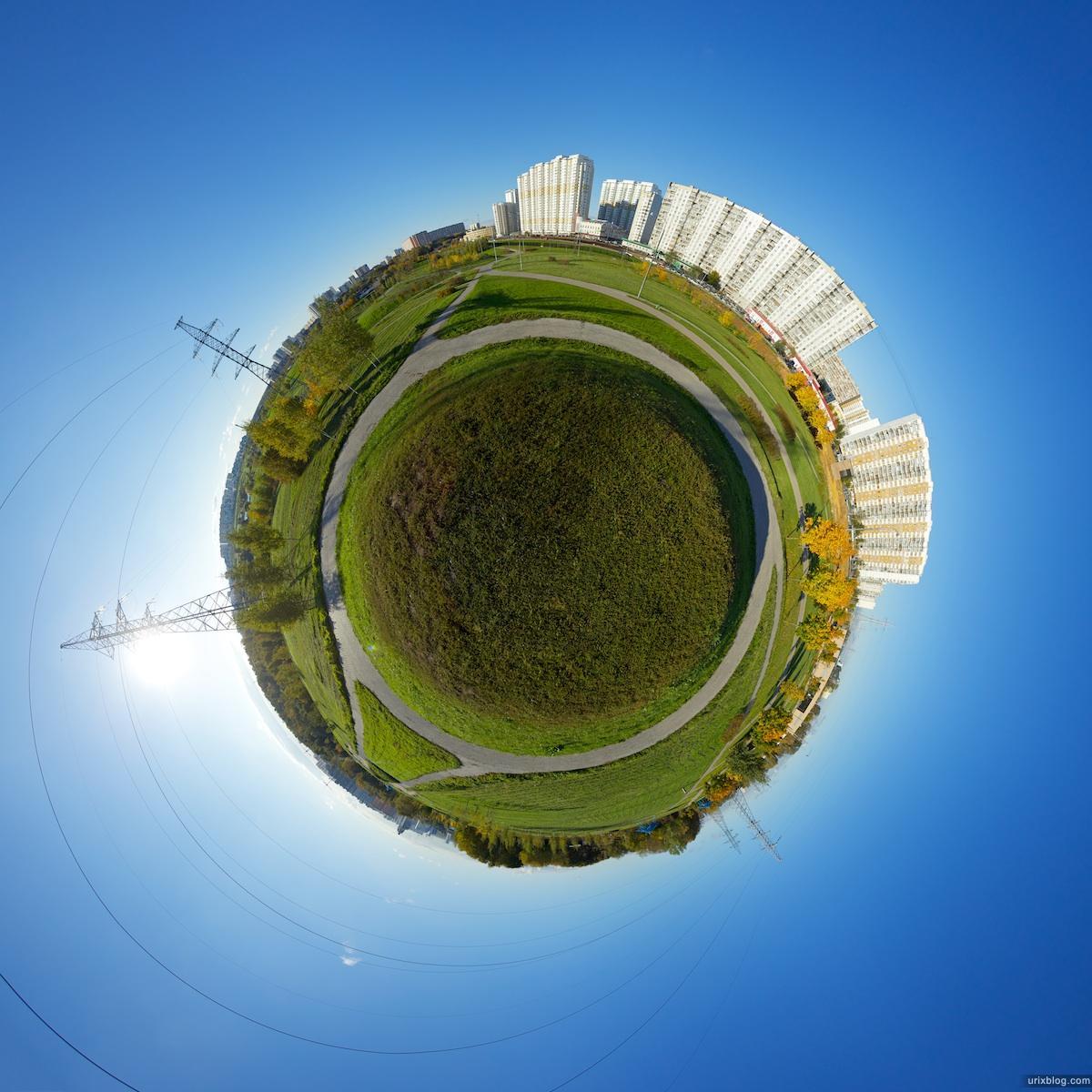 2010 ландшафтный парк в Митино Москва планета small planet