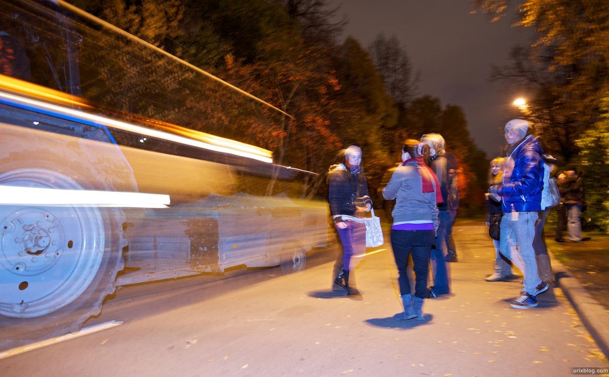2010 вечер набережная река Москва