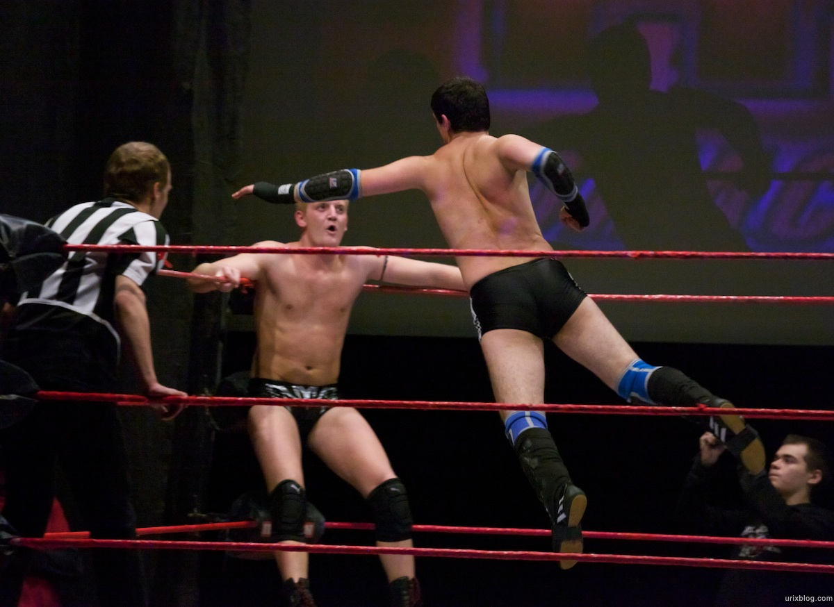 2010 Опасная Зона 60 НФР реслинг wrestling Москва