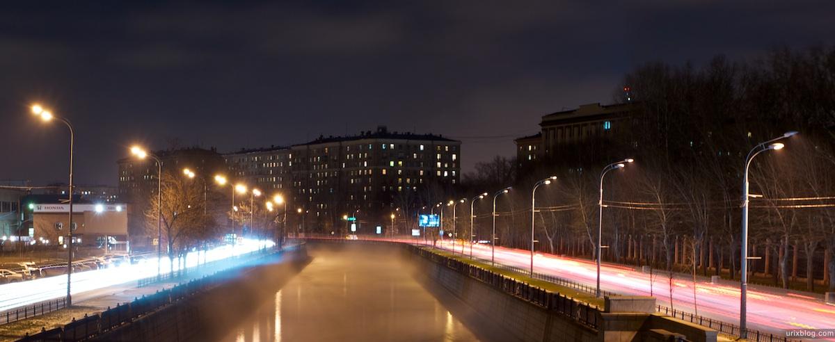 2010 Moscow, Yauza river winter cold зима холод река яуза Москва
